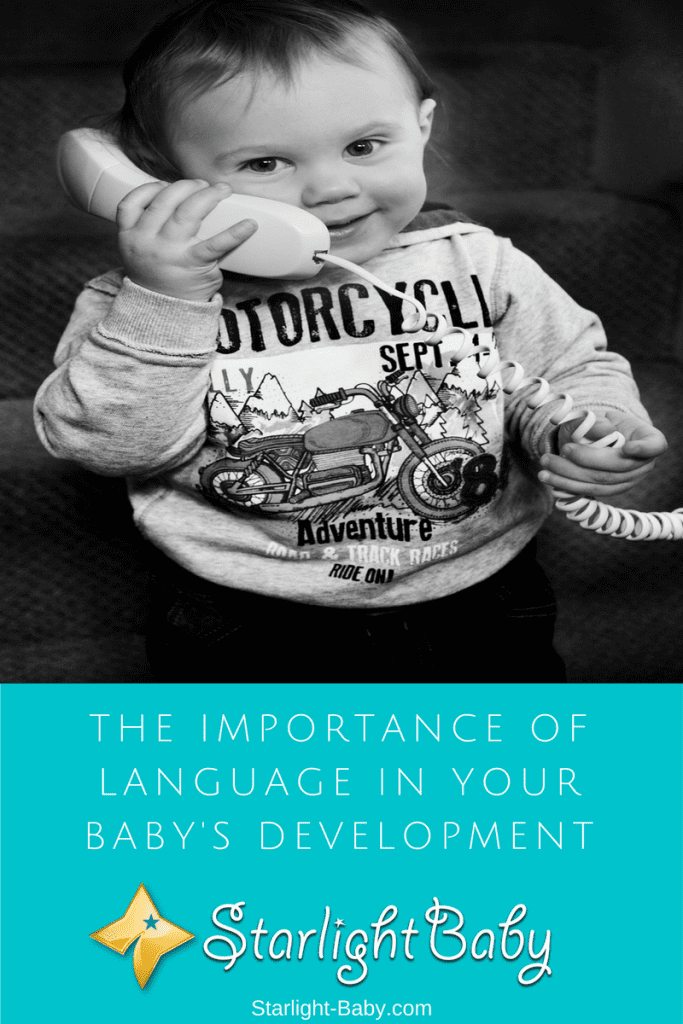 The Importance Of Language In Your Baby's Development