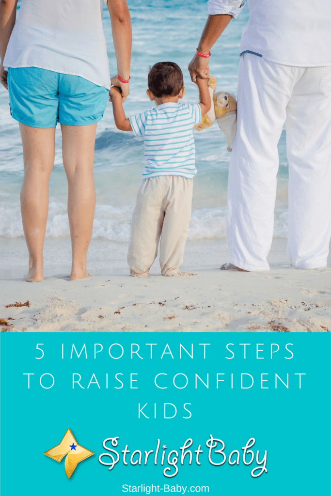 5 Important Steps To Raise Confident Kids