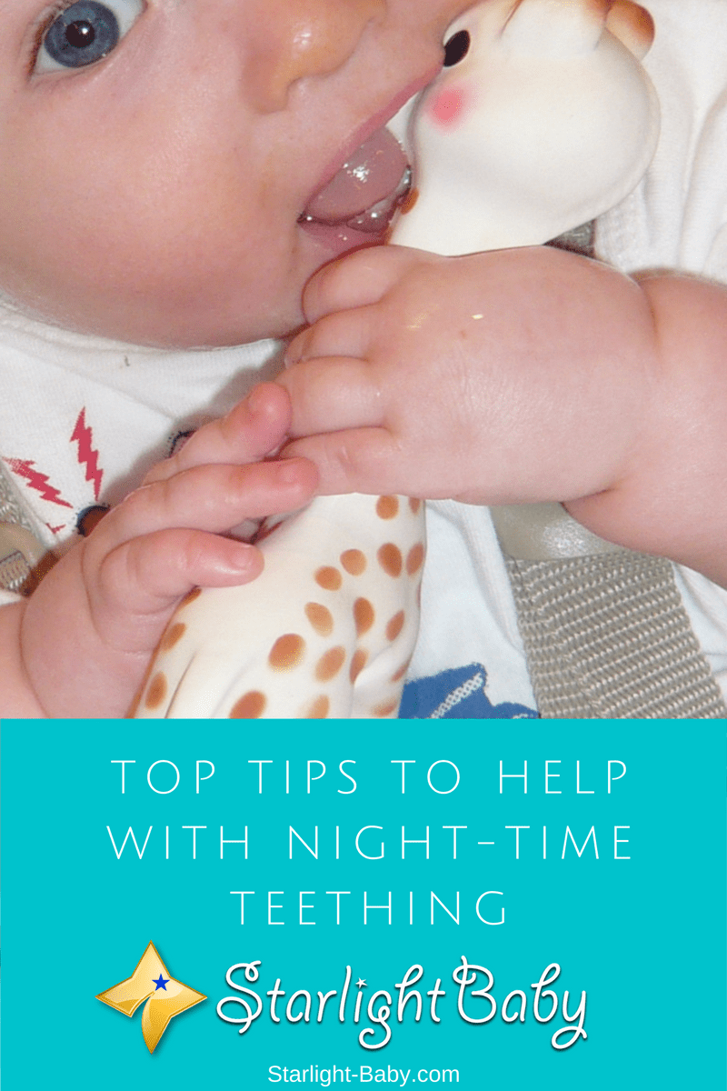 Top Tips To Help With Night-Time Teething