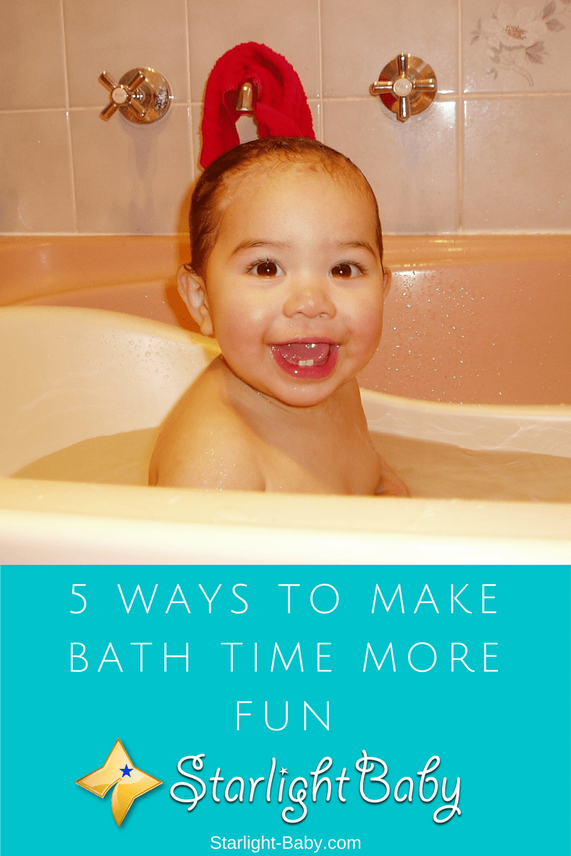 5 Ways To Make Bath Time More Fun