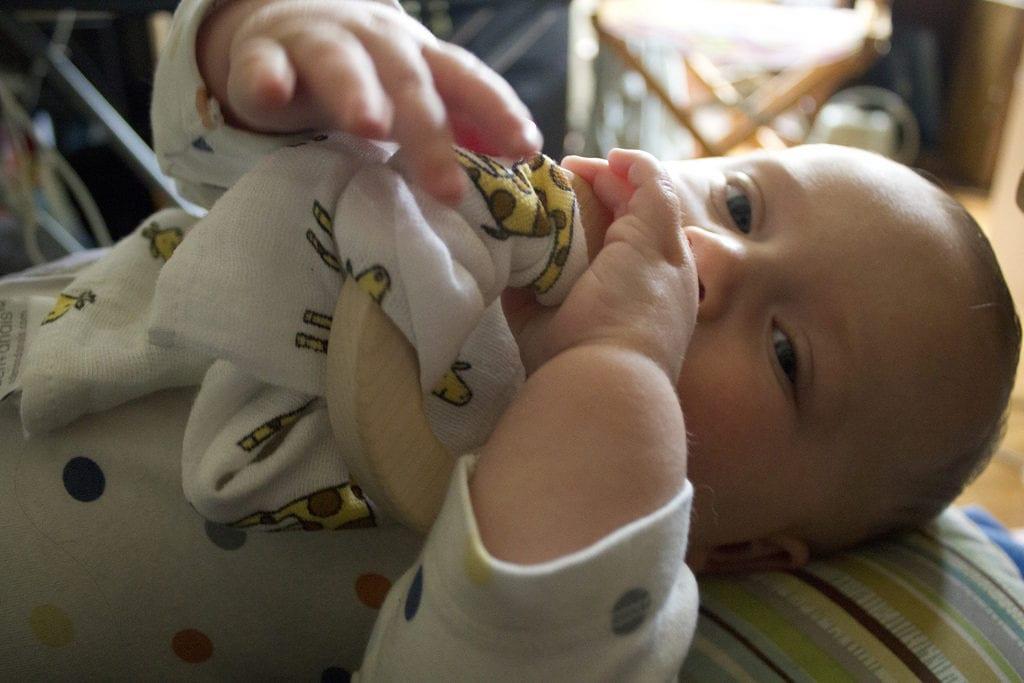 help baby through teething