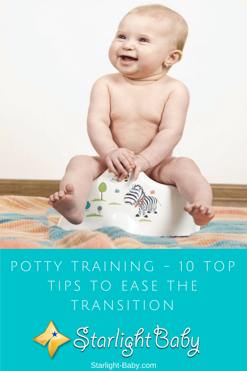 Potty Training - 10 Top Tips To Ease The Transition