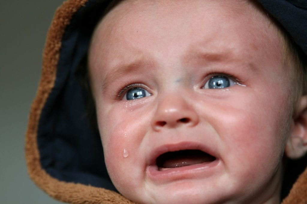 soothe crying baby