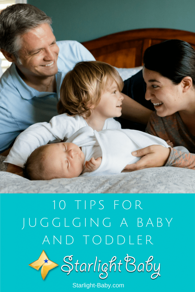 10 Tips For Juggling A Baby And Toddler
