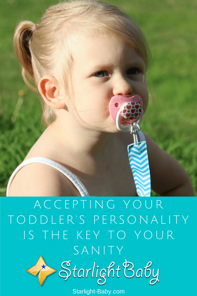 Accepting Your Toddler's Personality Is Key To Your Sanity