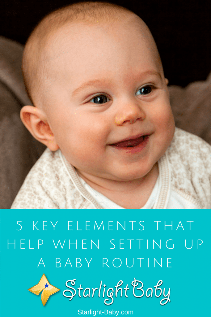 5 Key Elements That Help When Setting Up A Baby Routine
