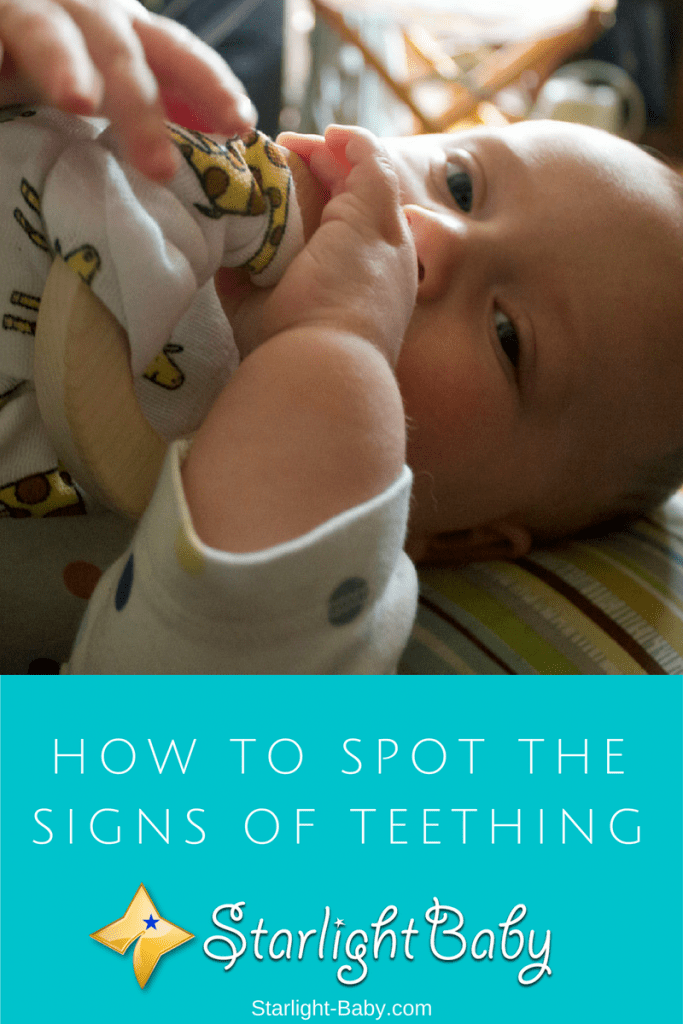 How To Spot The Signs Of Teething