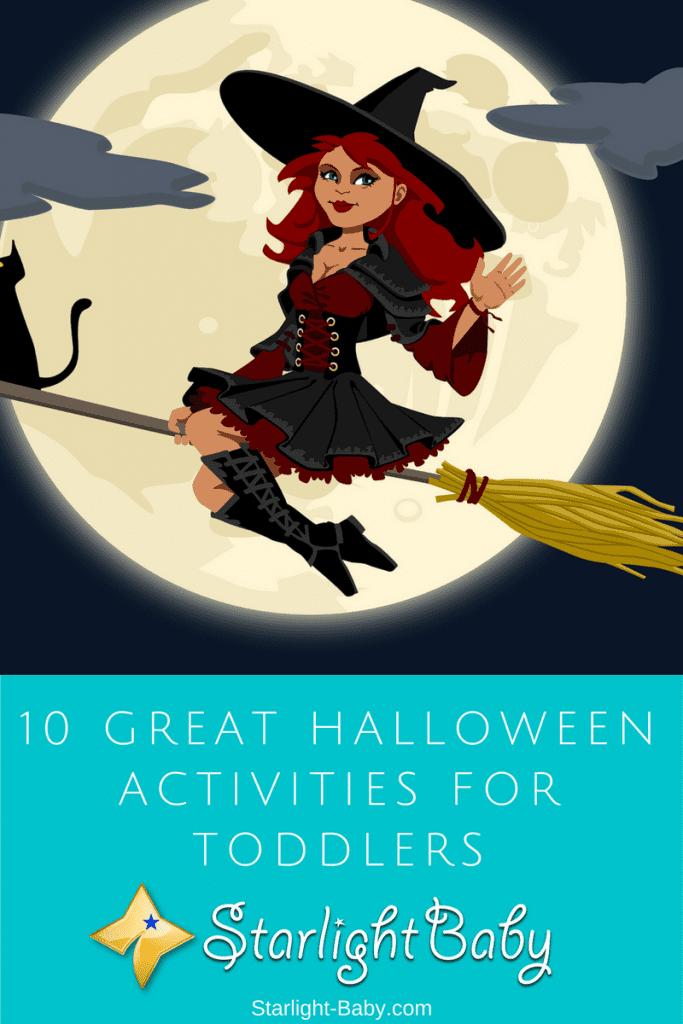 10 Great Halloween Activities For Toddlers