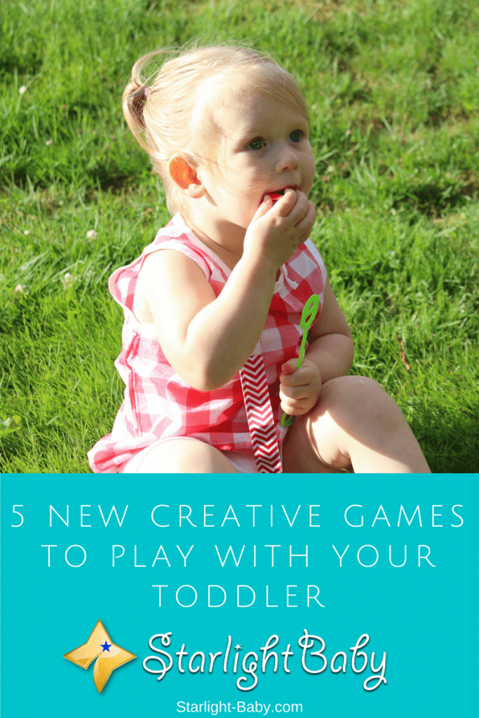 5 New Creative Games To Play With Your Toddler