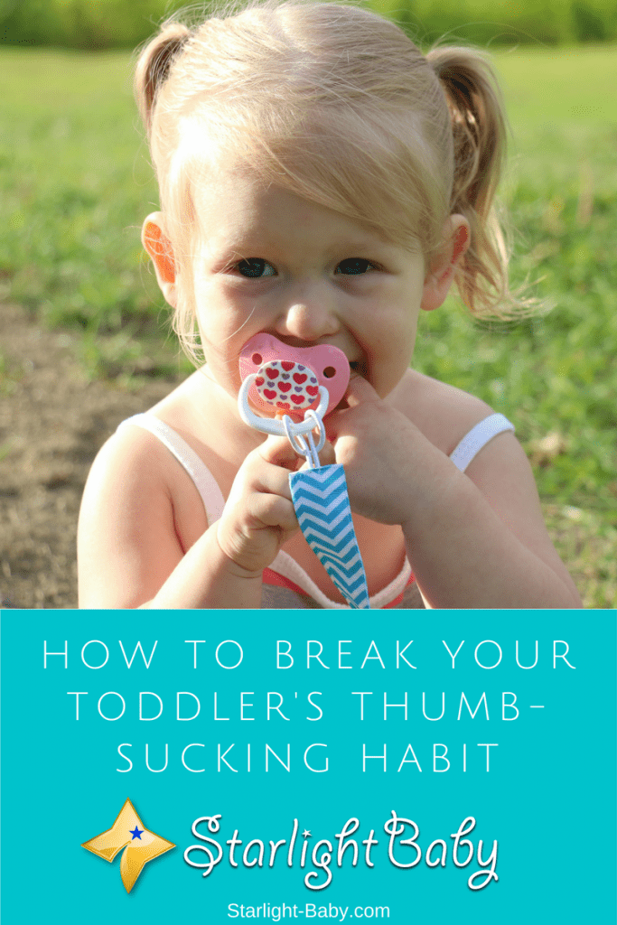 How To Break Your Toddler's Thumb-Sucking Habit
