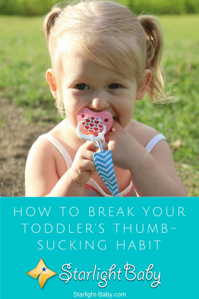How To Break Your Toddler's Thumb-Sucking Habit