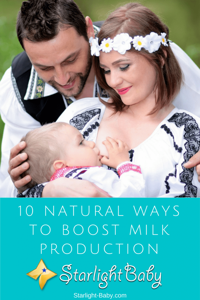 10 Natural Ways To Boost Milk Production