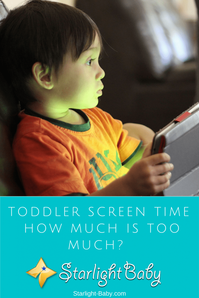 Toddler Screen Time – How Much Is Too Much?