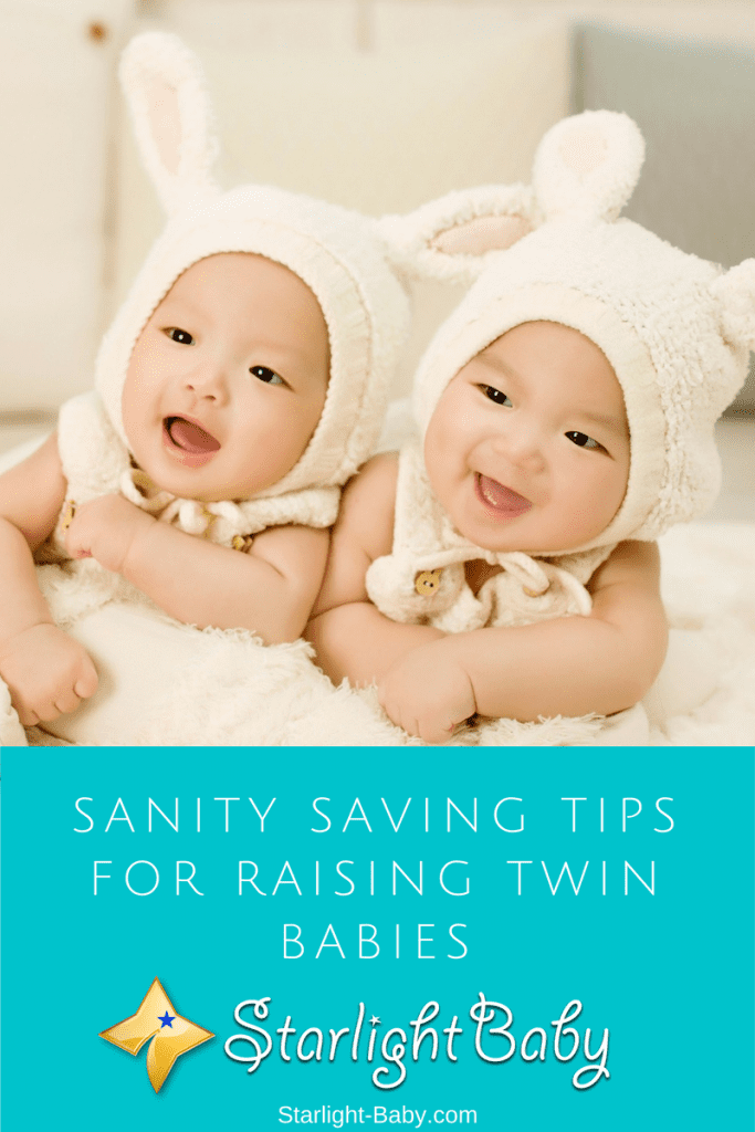 Sanity Saving Tips For Raising Twin Babies
