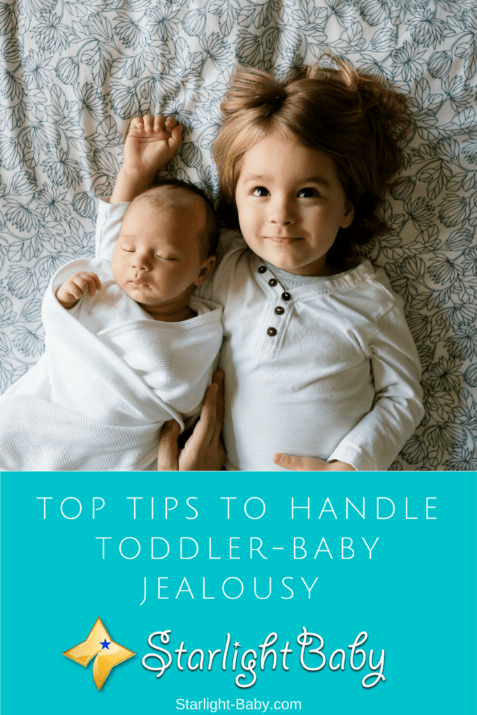 Top Tips To Handle Toddler-Baby Jealousy