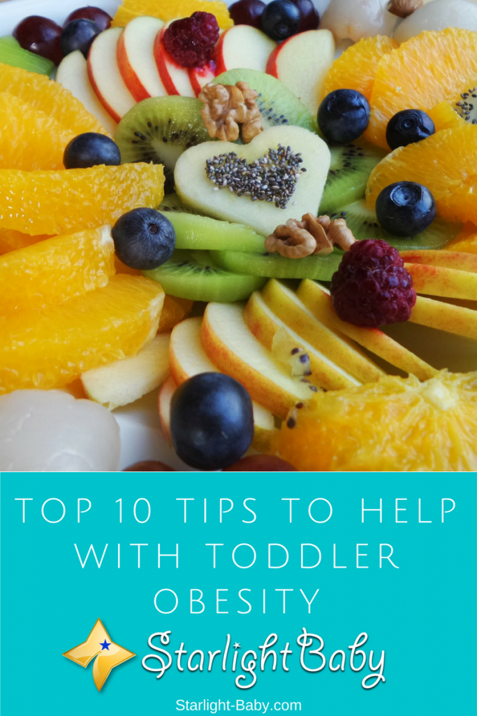 Top 10 Tips To Help With Toddler Obesity