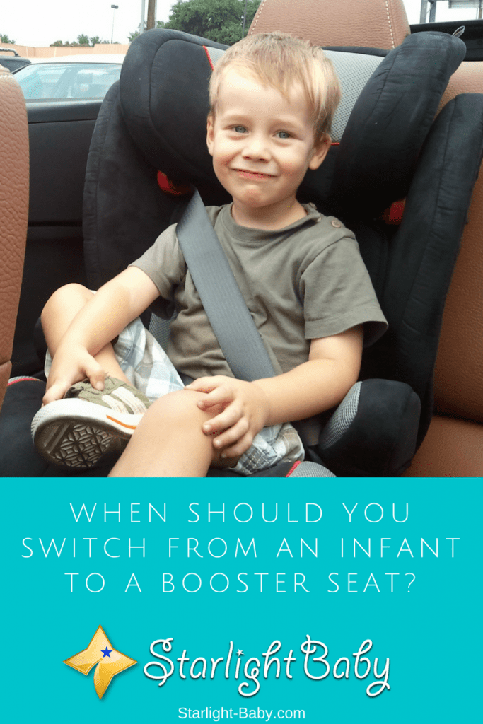 When Should You Switch From An Infant To A Booster Seat?