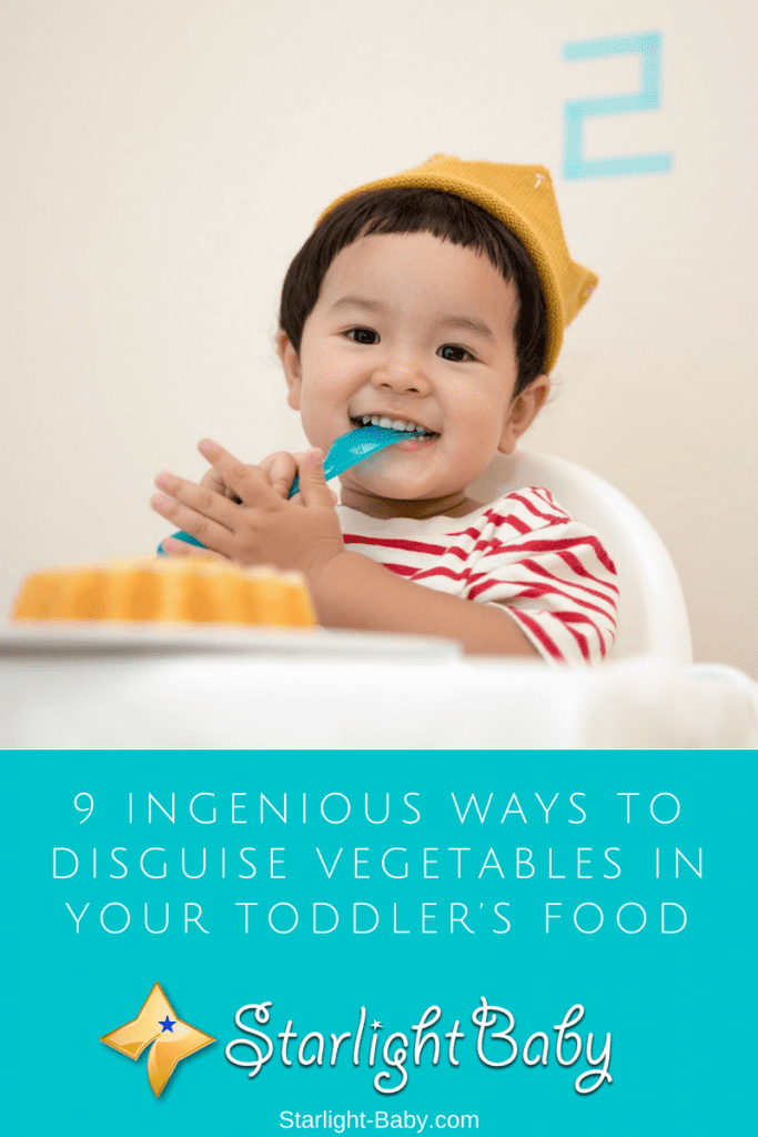 9 Ingenious Ways To Disguise Vegetables In Your Toddler's Food