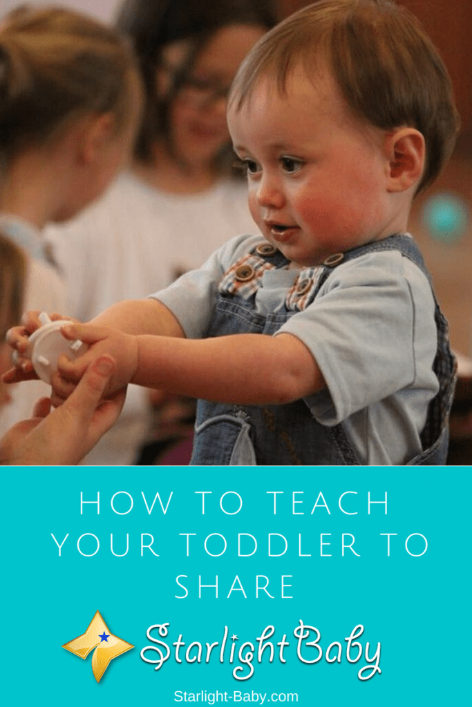 How To Teach Your Toddler To Share