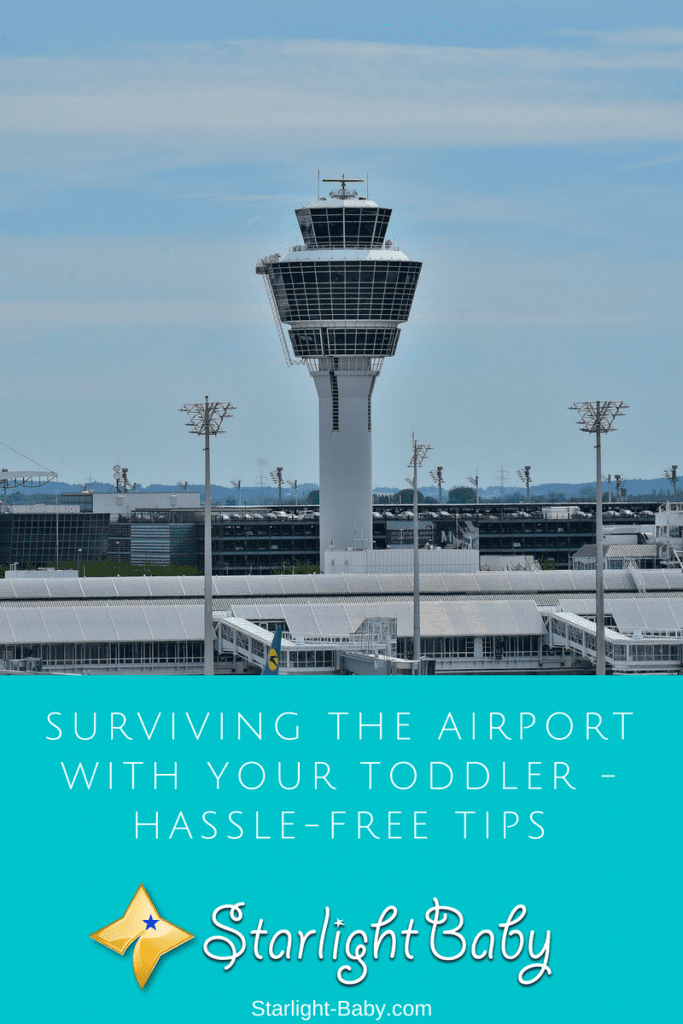 Surviving The Airport With Your Toddler - Hassle-Free Tips