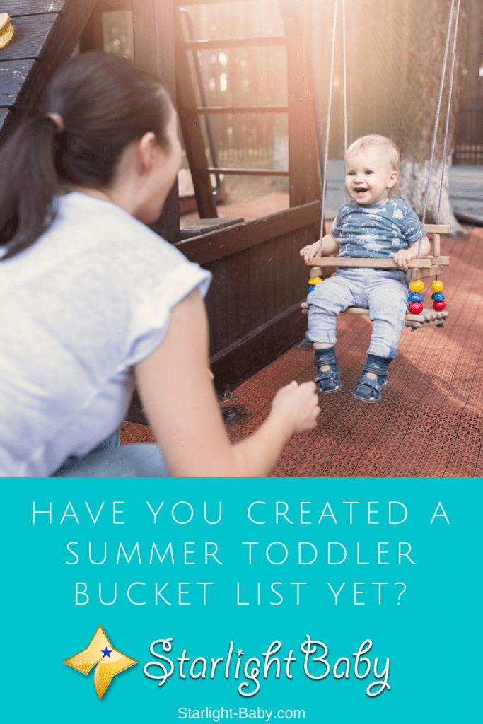 Have You Created A Summer Toddler Bucket List Yet?