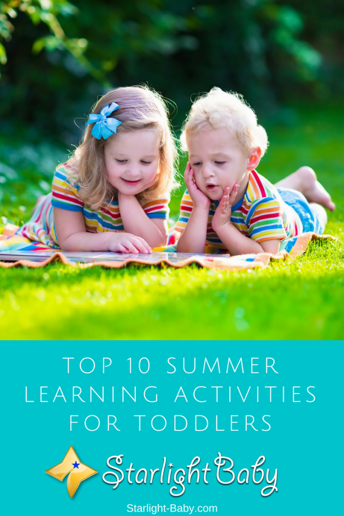 Top 10 Summer Learning Activities For Toddlers