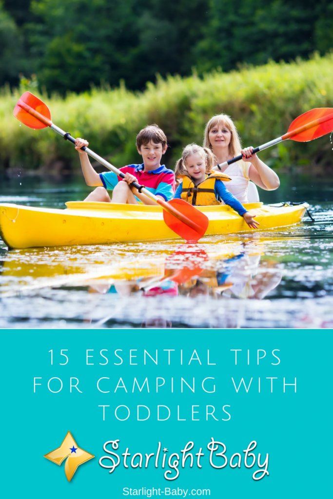 Camping With Toddlers: 15 Essential Tips