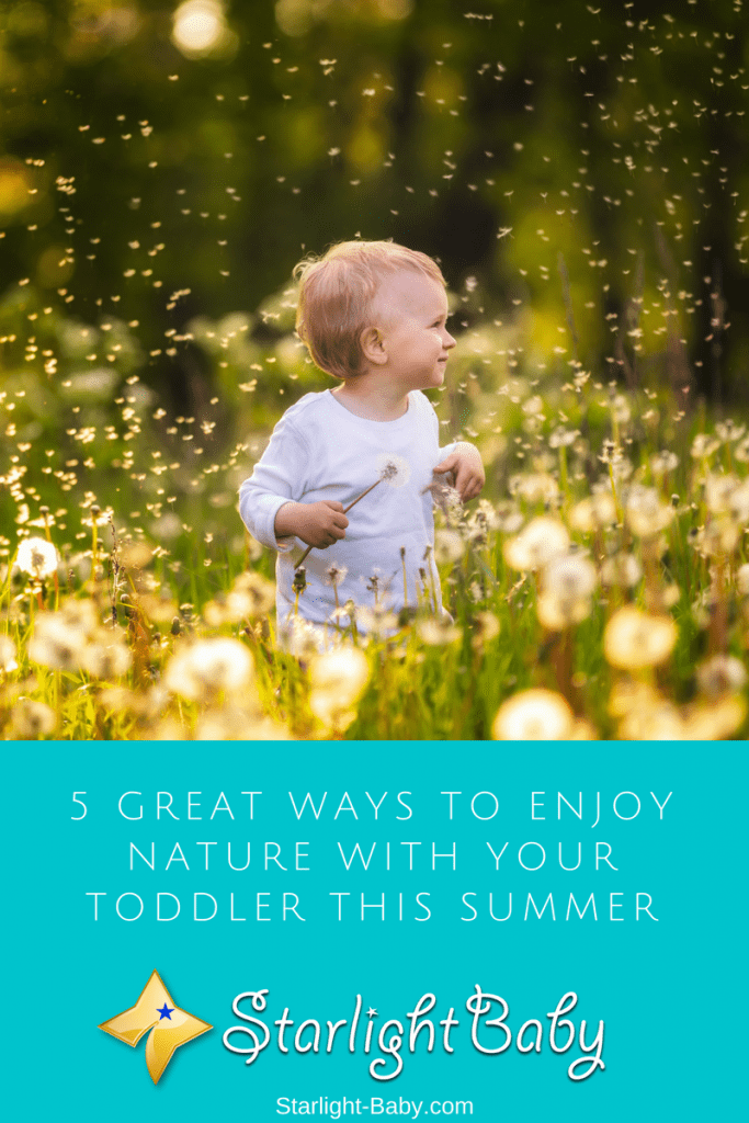 5 Great Ways To Enjoy Nature With Your Toddler This Summer