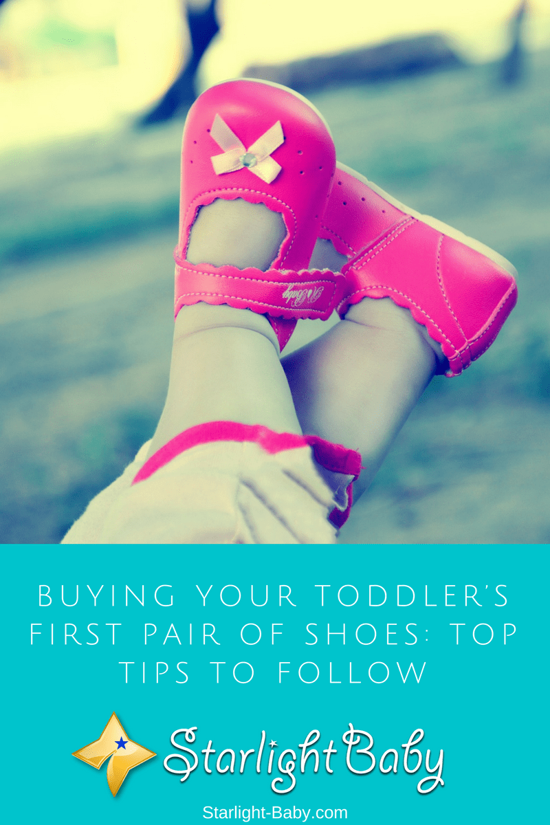 Buying Your Toddler's First Pair Of Shoes: Top Tips To Follow