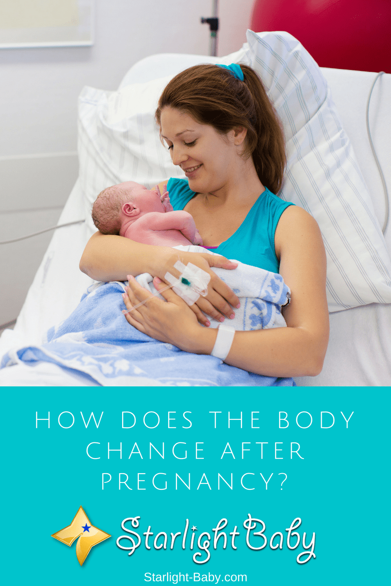 How Does The Body Change After Pregnancy?