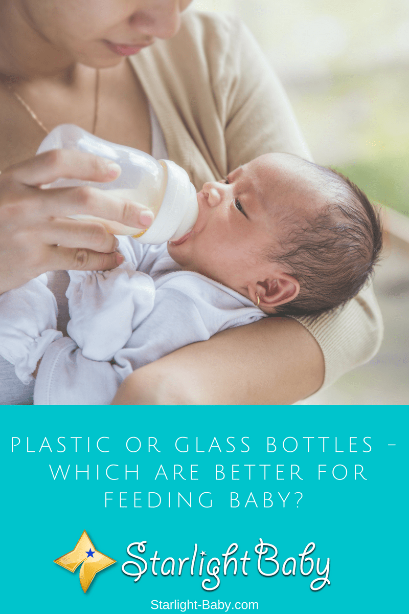 Plastic Or Glass Bottles – Which Are Better For Feeding Baby?