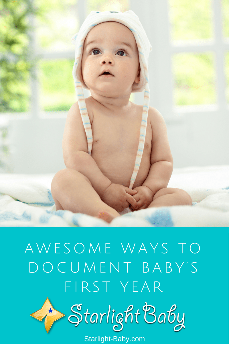 Awesome Ways To Document Baby's First Year
