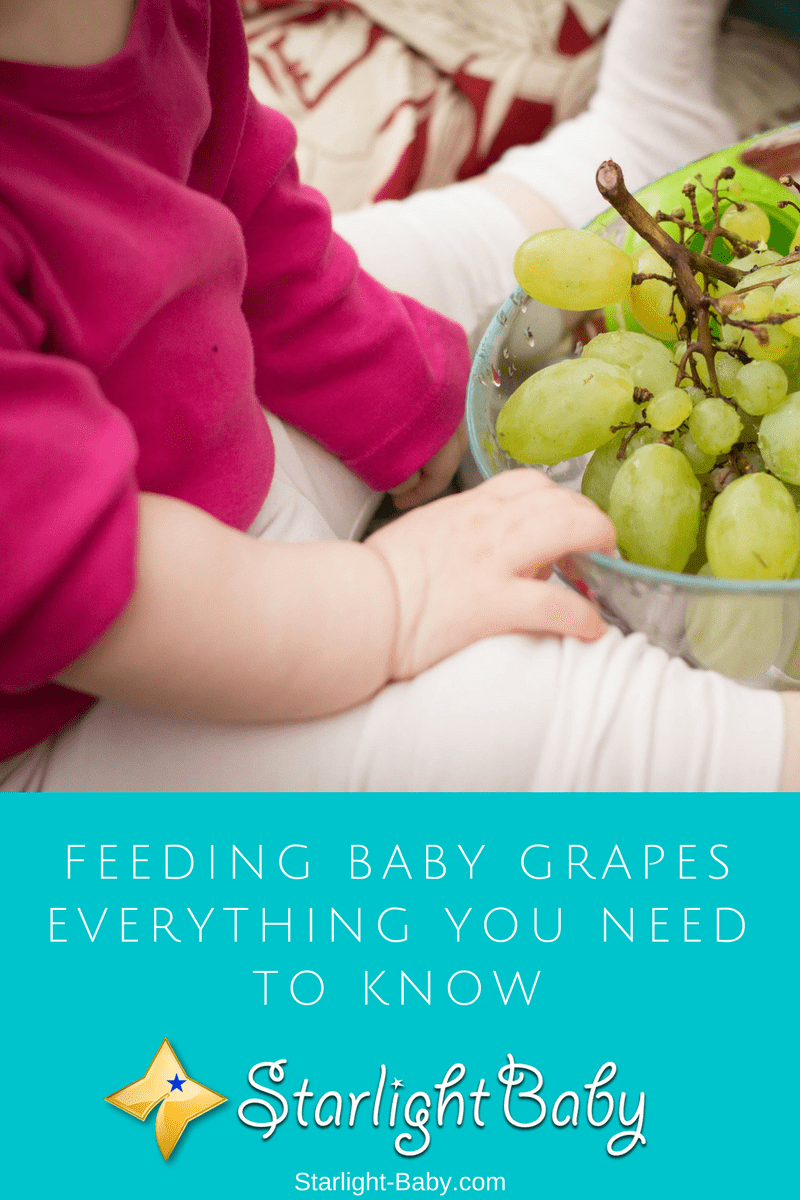 Feeding Baby Grapes – Everything You Need To Know