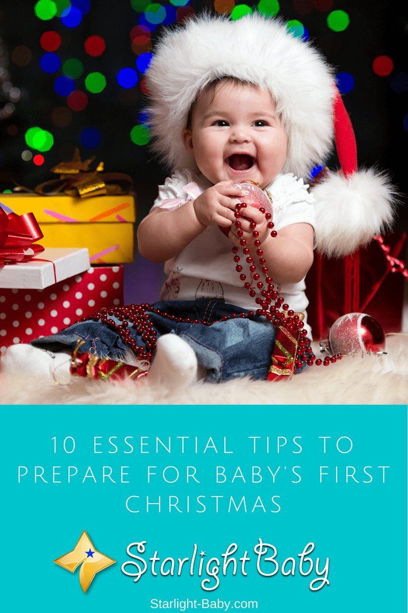 10 Essential Tips To Prepare For Baby's First Christmas