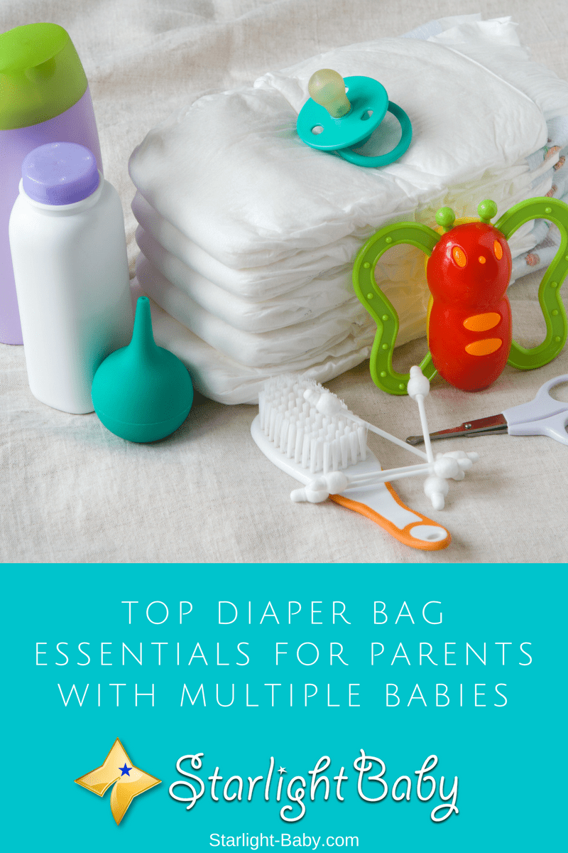 Top Diaper Bag Essentials For Parents With Multiple Babies