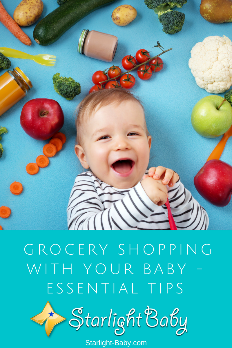 Essential Tips For Grocery Shopping With Your Baby