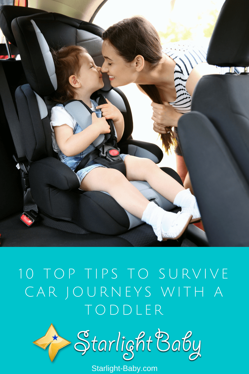 10 Top Tips To Survive Car Journeys With A Toddler