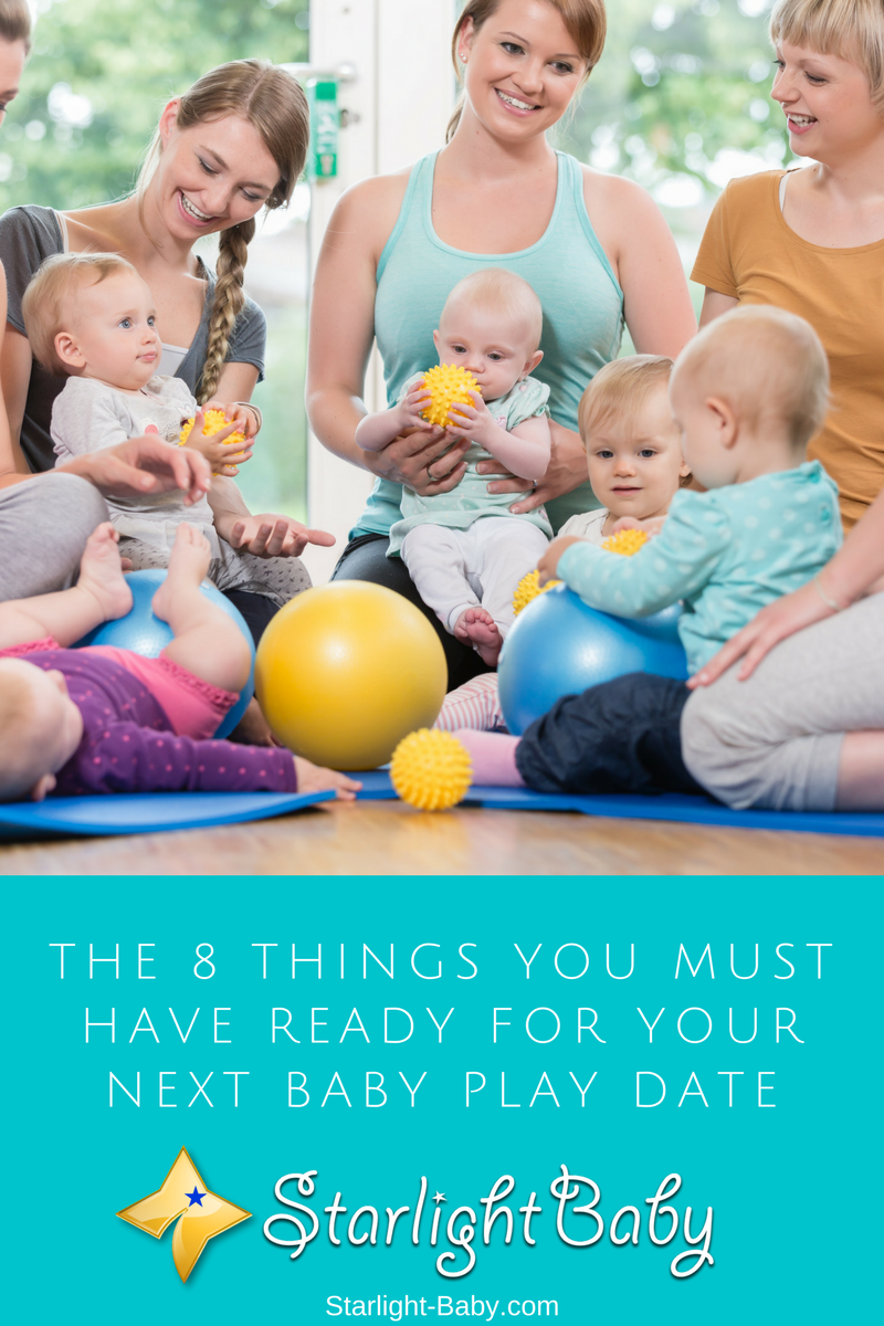 The 8 Things You Must Have Ready For Your Next Baby Play Date