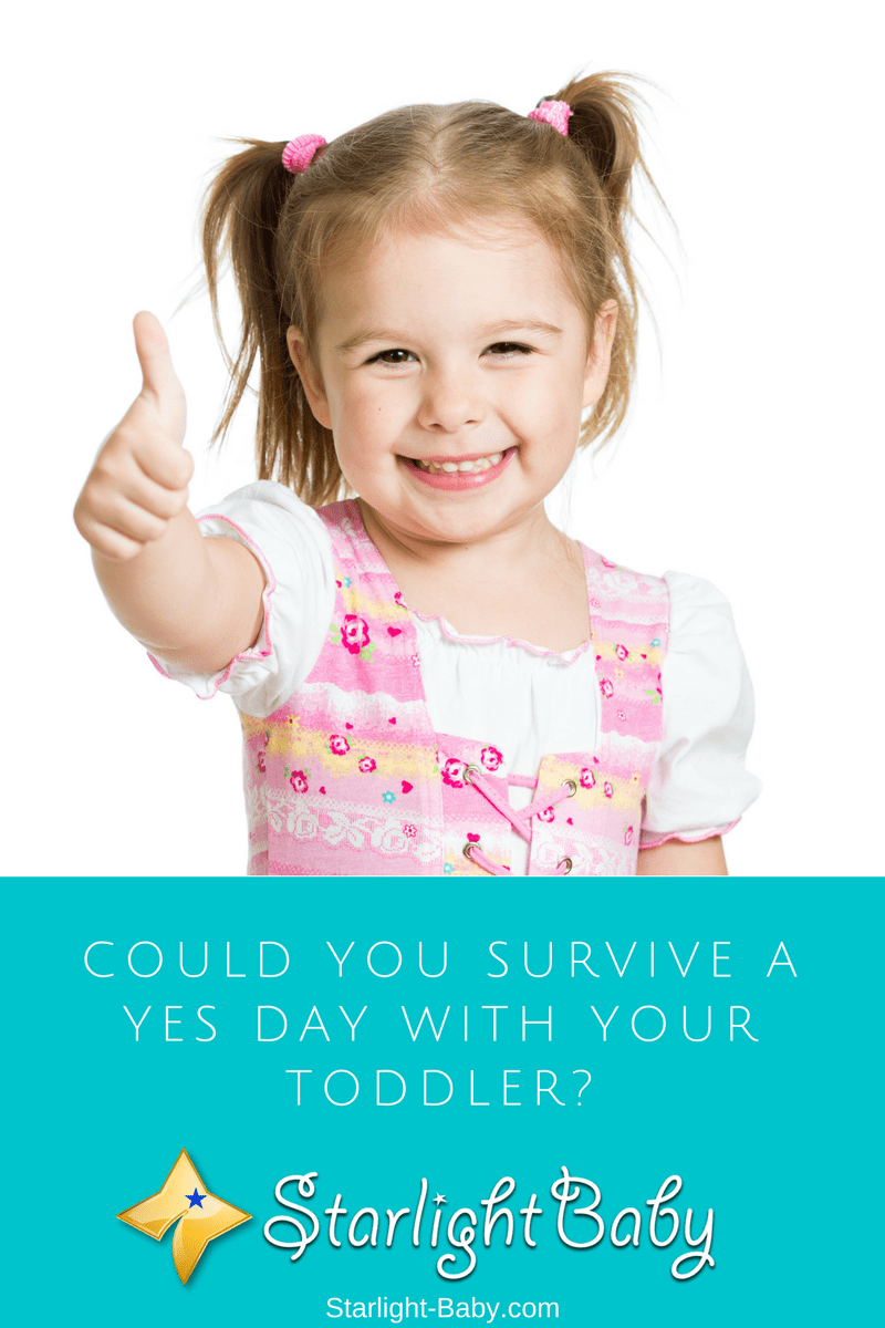 Could You Survive A Yes Day With Your Toddler