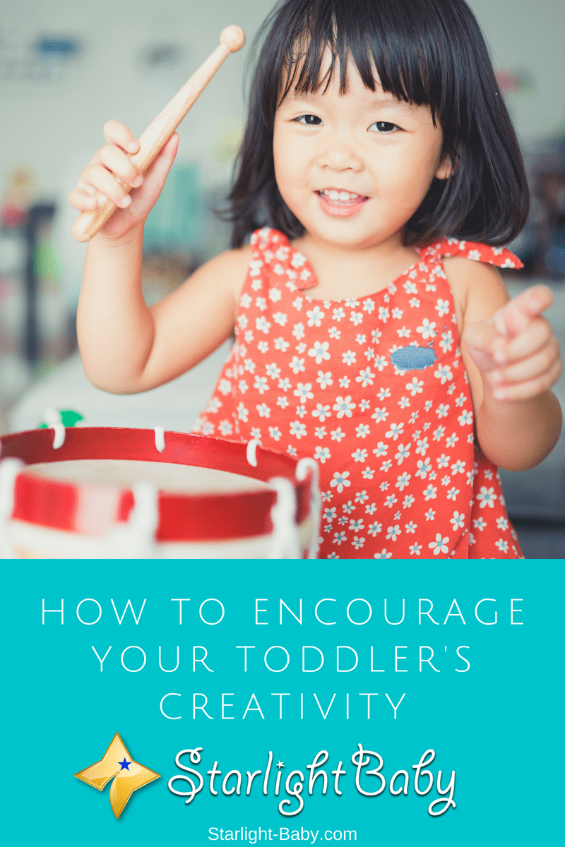 How To Encourage Your Toddler's Creativity