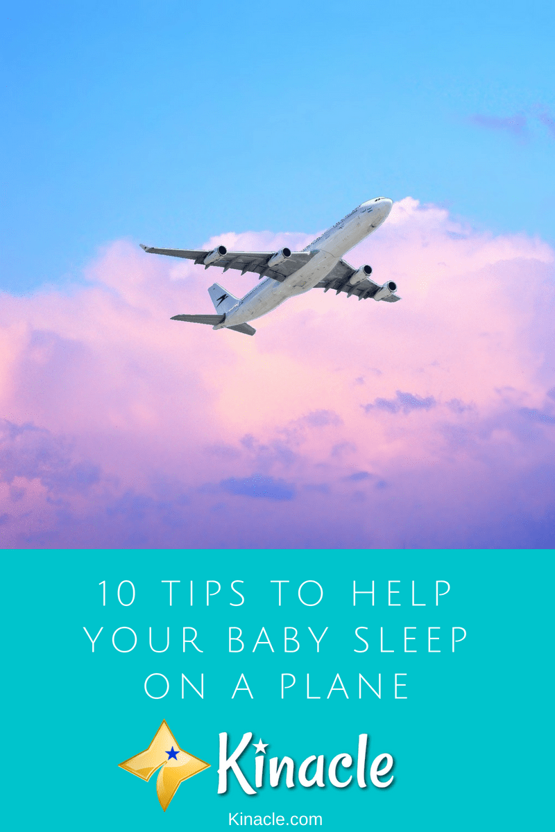 10 Tips To Help Your Baby Sleep On A Plane