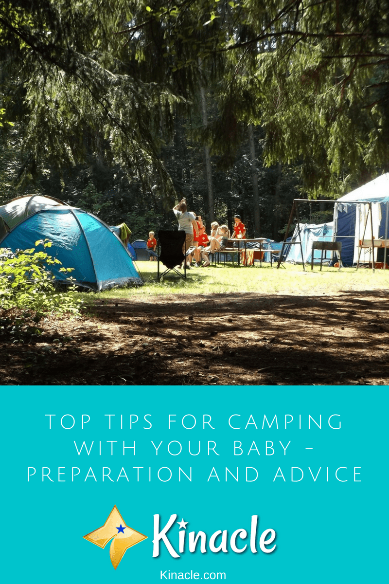 Top Tips For Camping With Your Baby