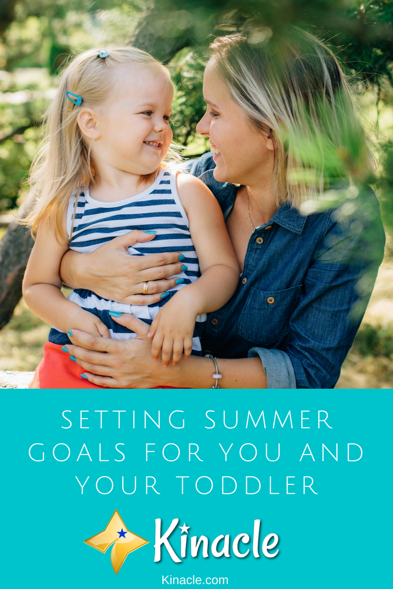 Setting Summer Goals For You And Your Toddler