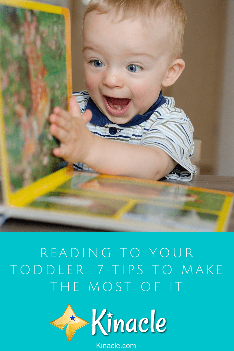 Reading To Your Toddler: 7 Tips To Make The Most Of It