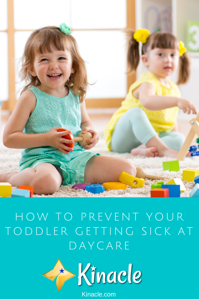 How To Prevent Your Toddler Getting Sick At Daycare