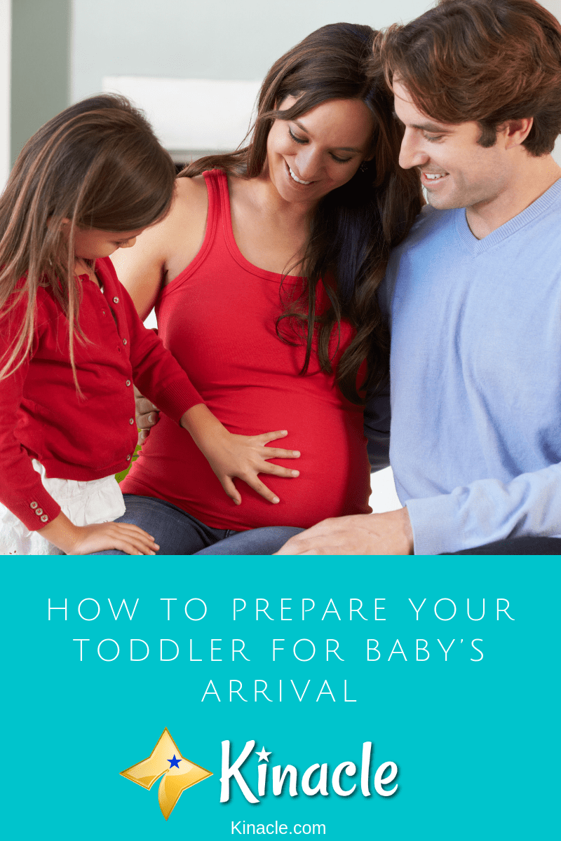 How To Prepare Your Toddler For Baby's Arrival