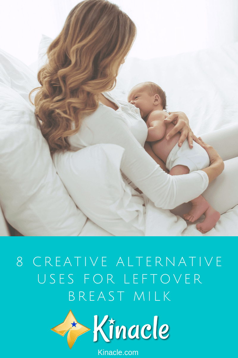 Top Alternative Uses For Leftover Breast Milk