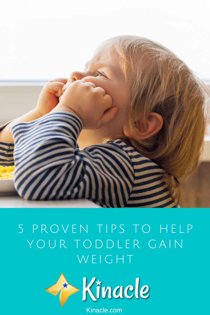 5 Proven Tips To Help Your Toddler Gain Weight