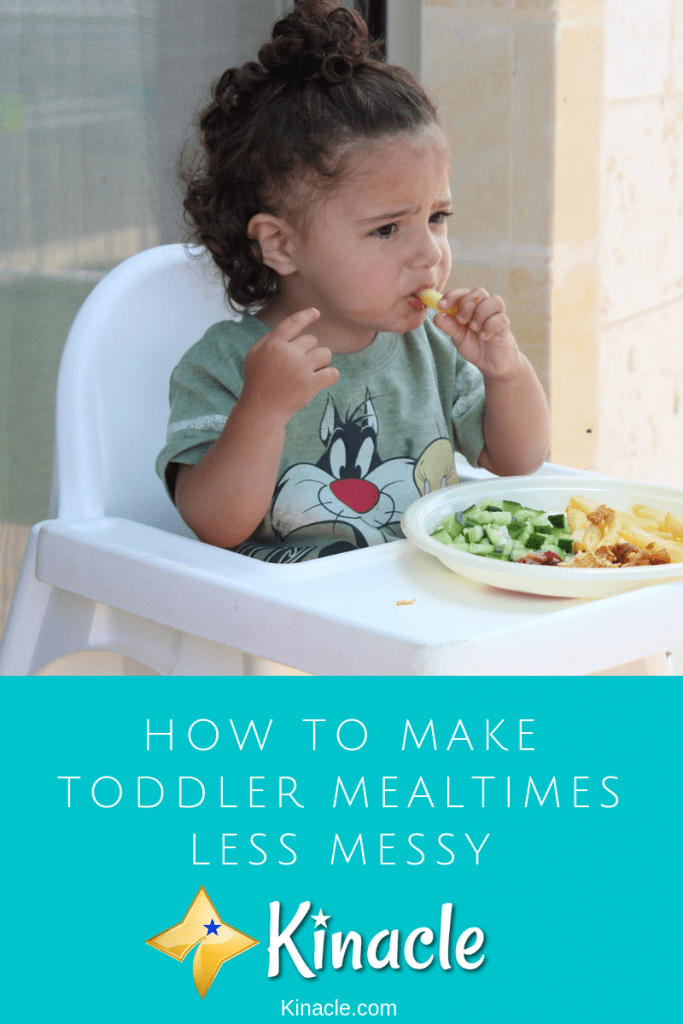 How To Make Toddler Mealtimes Less Messy
