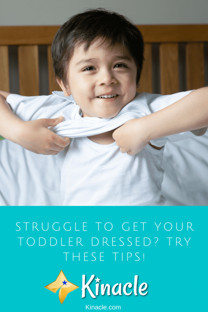 Struggle To Get Your Toddler Dressed? Try These Tips!